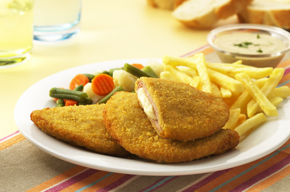 Al Huda Turkey Cordon Bleu